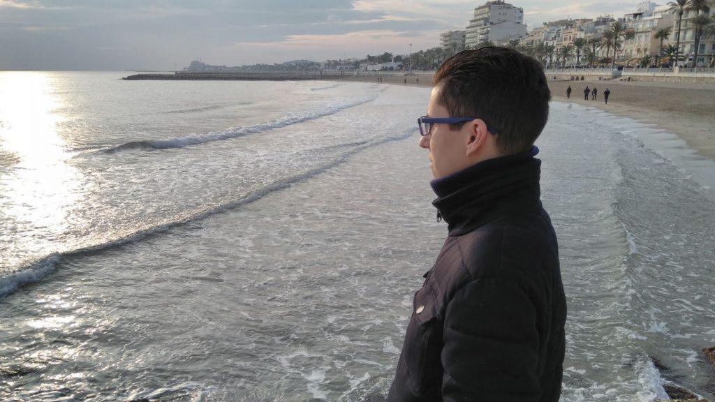 El escritor catalán Octavi Pina