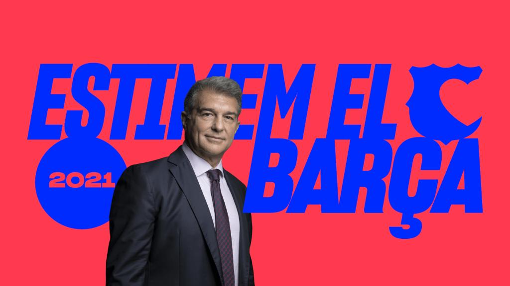 Joan Laporta, nuevo president del Barça.