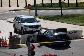 Atropello de dos policias en el Capitolio de Estados Unidos