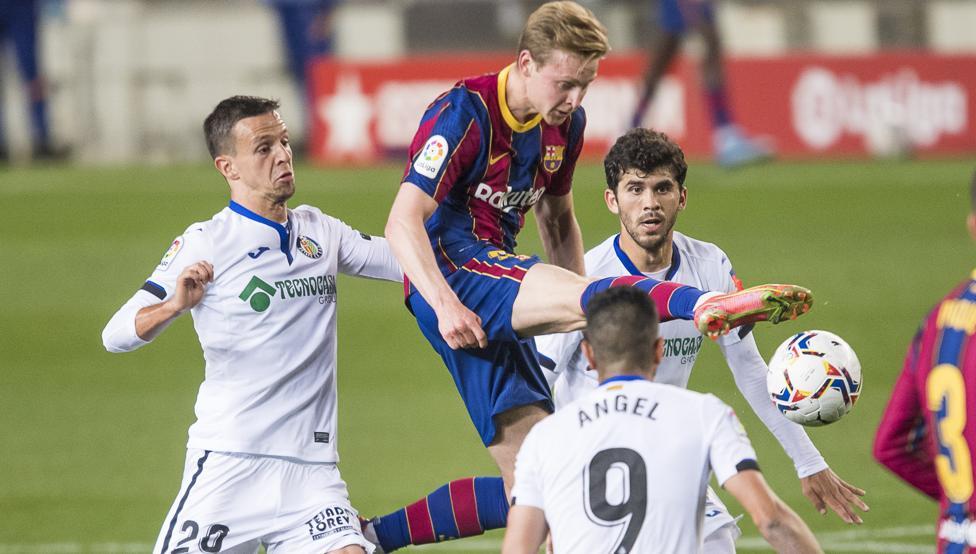 Gran victoria del Barça contra el Getafe
