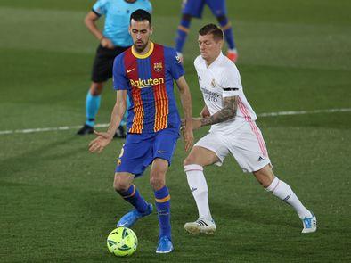 Victoria del Real Madrid sobre el Barça en un clásico muy igualado.