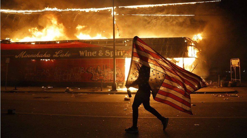 Violencia racial en Minniapolis