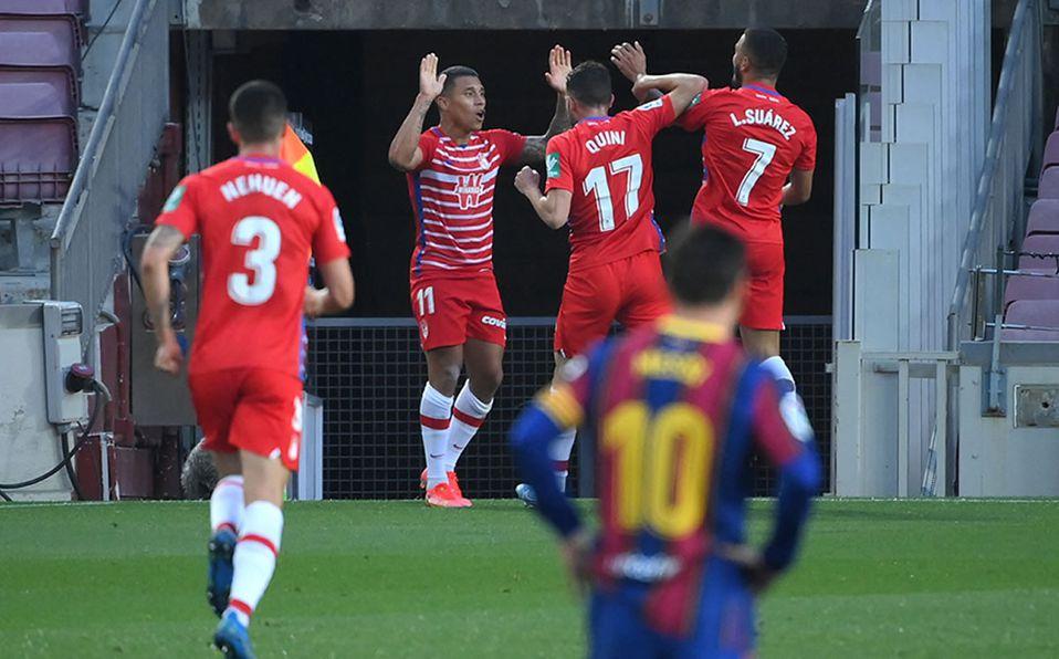 El Barça pierde contra el Granada y ya no depende de sí mismo