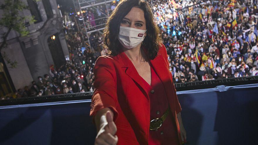 Victoria aplastante de Ayuso en las elecciones a la Comunidad de Madrid