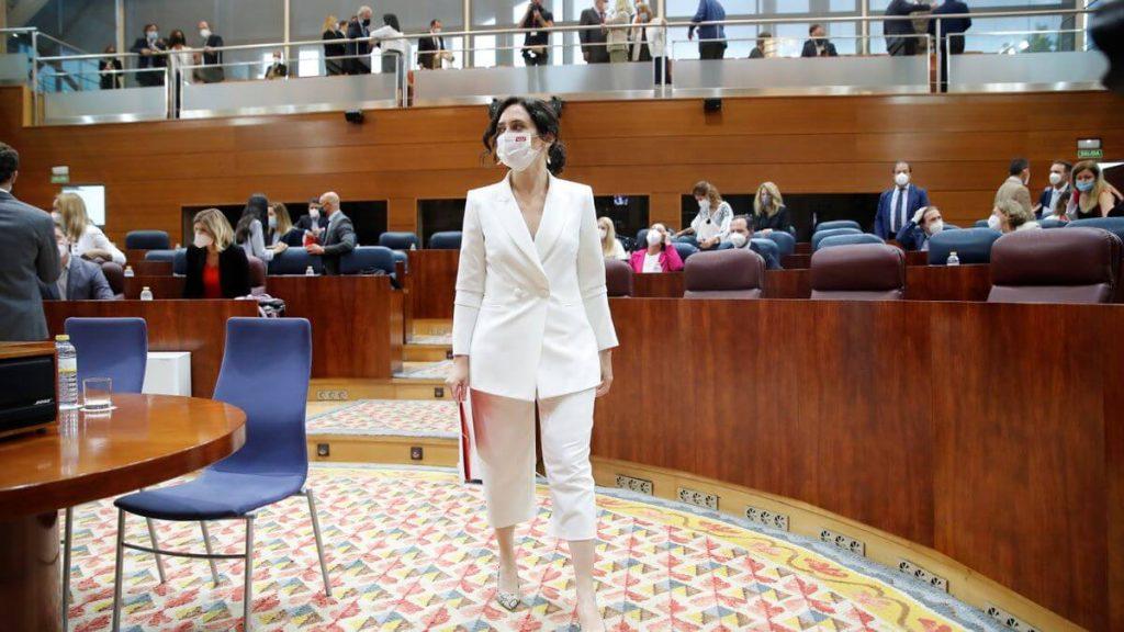 Inicio de legislatura de Ayuso en Madrid