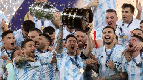 Argentina ganó la Copa América 2020