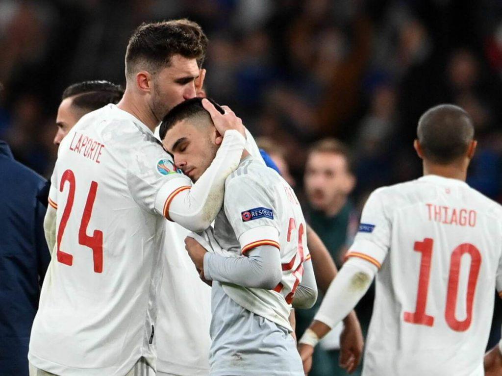 España es eliminada de las semifinales de la Eurocopa 2021