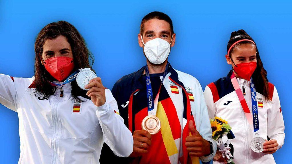 Las tres primeras medallas de los Juegos Olímpicos de Tokio 2020