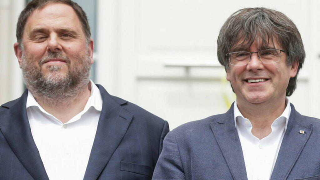 El reencuentro entre Puigdemont y Junqueras es una de las noticias de la semana